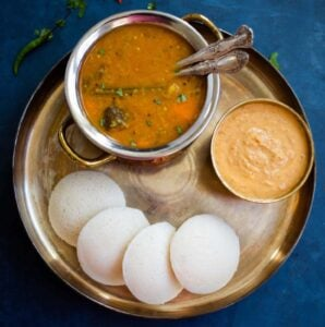 idli steamed in the instant pot