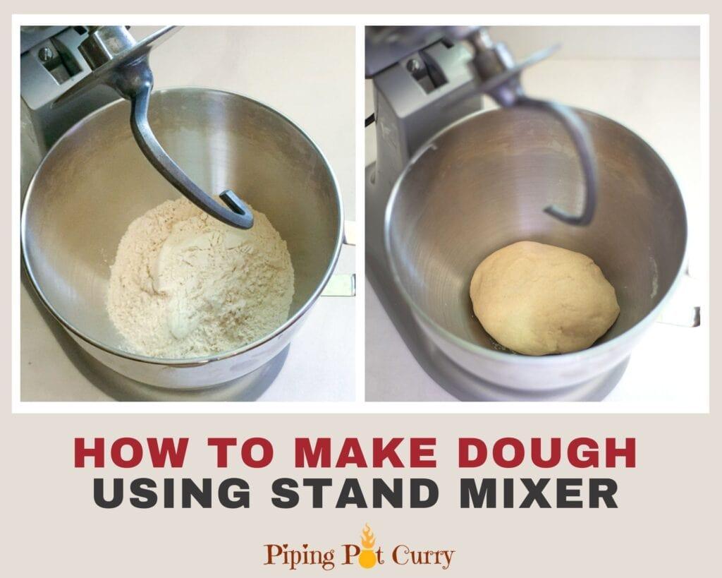 How to make roti dough using kitchenaid stand mixer