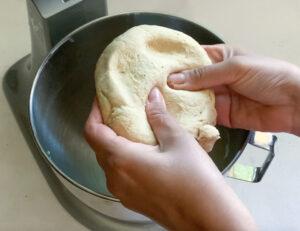 Check roti/chapati dough is soft
