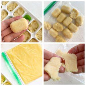 freezed garlic paste