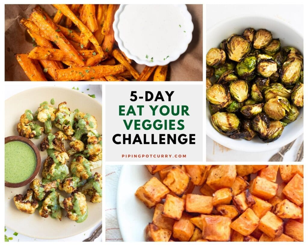 5-day Eat your veggies challenge
