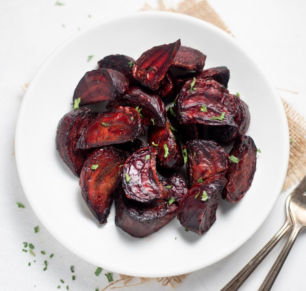 roasted beets on a plate