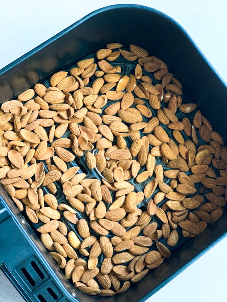 roasting almonds in the air fryer