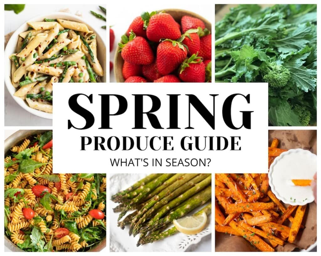 Spring produce guide: fruits and vegetable