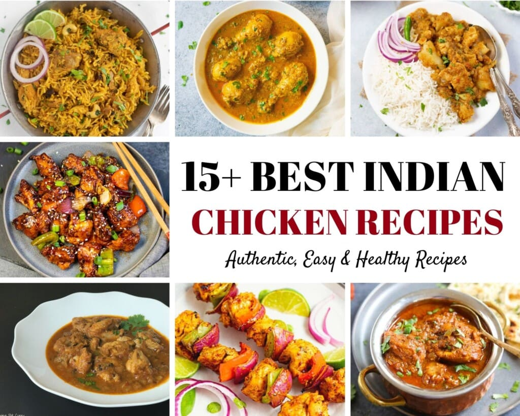 15 Best Easy and Healthy Indian Chicken Recipes