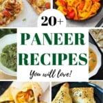 20 Best Paneer Recipes
