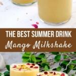 Easy Mango Milkshake