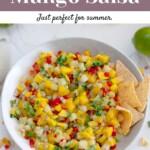 Easy Pineapple Mango Salsa