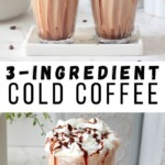 Creamy Indian cold coffee