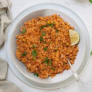 pressure cooker spanish rice