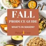 Seasonal Produce: Fall Fruits & Vegetables